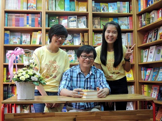 Nha van Nguyen Nhat Anh: 'Toi thay minh so do' hinh anh