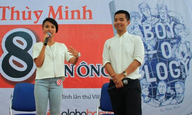 Tac gia tre Thuy Minh: 'Chi tin dan ong tren 30 tuoi' hinh anh