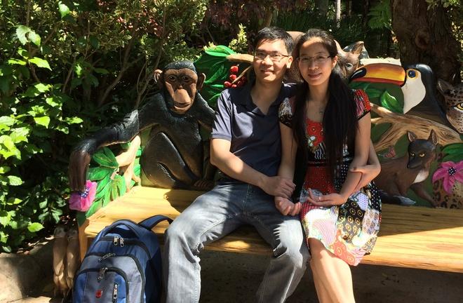 Việc sang Mỹ là một quyết định khó khăn khi Giang đã có công việc ổn định, có người yêu ở Việt Nam