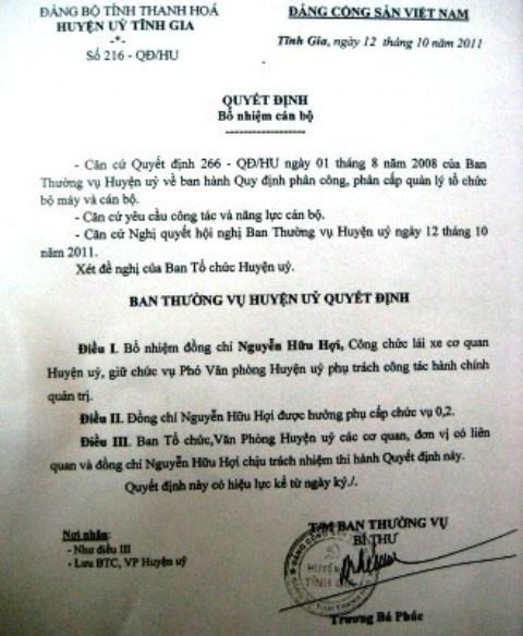 Phat hien them 2 lai xe duoc bo nhiem Pho Chanh Van phong hinh anh 1