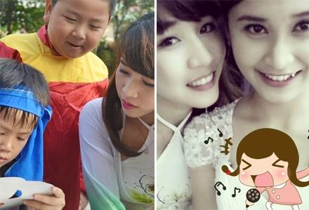 Chi Hang xinh nhu hot girl tai Trung thu truong VIP hinh anh