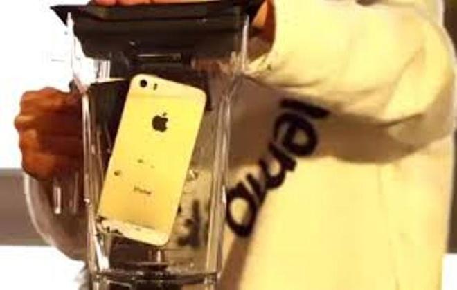 E-kip 'Anh khong doi qua' xay nat 2 chiec iPhone 5S hinh anh