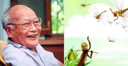 Nhà văn Nguyễn Quang Vinh ngậm ngùi tiếc thương.