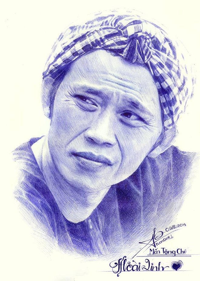 Chang Trai Sinh Nam 1997 Ve Hoai Linh Bang But Bi Hinh Anh 1