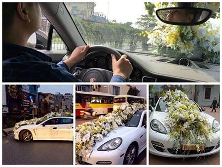 Do xa hoa, hoanh trang cua nhung dam cuoi Viet hinh anh 1 30 triệu là số tiền hoa trang trí cho đám cưới này.