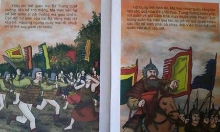 Hình ảnh minh họa trong cuốn sách. Ảnh: Facebook.