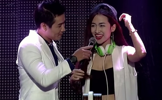 Nhung nu DJ nong bong cua The Remix hinh anh 1 Trong The Remix: Hòa âm và ánh sángsố đầu tiên, Trang Moon làm DJ trong tiết mục Sơn Tùng M-TP trình diễn ca khúc Em của ngày hôm qua được Slim V phối lại.