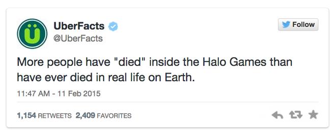 """9X kiem bon tien nho chia se su that tren mang hinh anh 4 """"Số người """"chết"""" trong Halo Games còn nhiều hơn số người qua đời trong thực tế trên trái đất""""."""