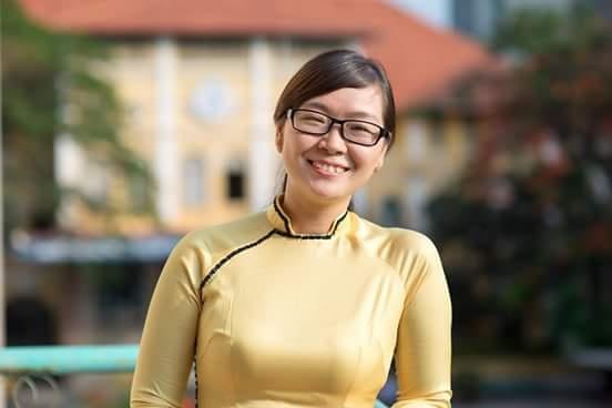 Tu de thi 'que Anh Vien o dau' den van de day hoc tich hop hinh anh 1 Cô giáo Huyền Thảo.