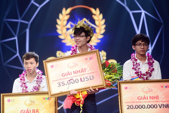 Viet Duc gianh vong nguyet que Duong len dinh Olympia 2015 hinh anh