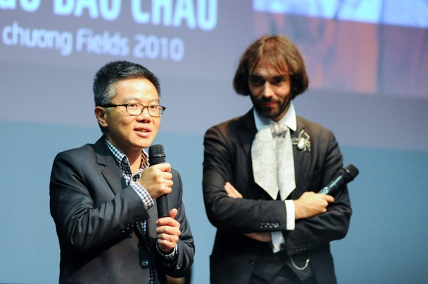GS Ngo Bao Chau: Toi truong thanh tu su tu ai hinh anh