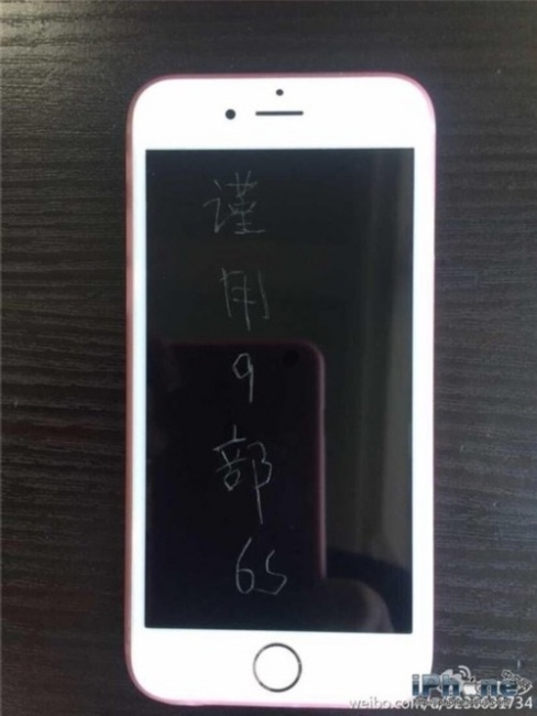 Khac thong diep gui nguoi yeu cu len 9 iPhone 6S moi cong hinh anh 2 d