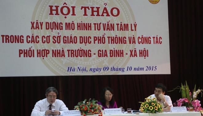 Bo GD&DT: Hoc sinh noi tuc, chui the khong con ca biet hinh anh 1