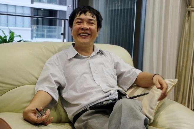 Thay cua GS Ngo Bao Chau va tam huy chuong dau tien hinh anh