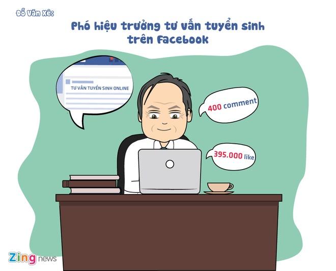 Tranh ve: Nhung thay co noi tieng tren Facebook hinh anh 5