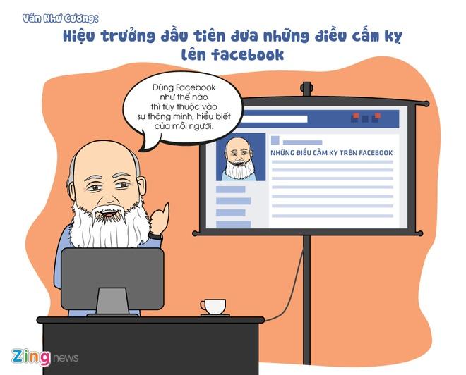 Tranh ve: Nhung thay co noi tieng tren Facebook hinh anh 1
