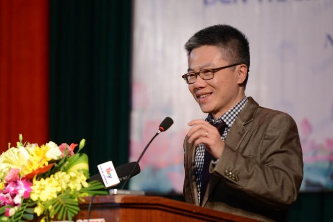 GS Ngo Bao Chau: Yeu Toan vi tung hoc kem hinh anh