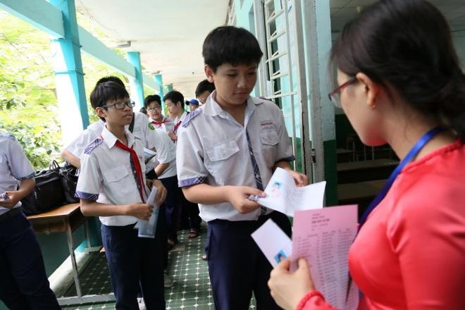 De thi, kiem tra: 'Cho HS giai quyet tinh huong thuc tien' hinh anh 1