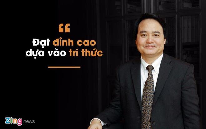 Ong Phung Xuan Nha la Bo truong GD&DT hinh anh