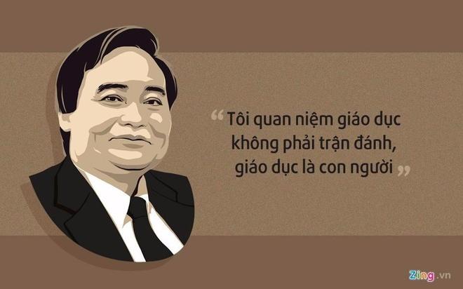 10 phat ngon an tuong cua Bo truong Phung Xuan Nha hinh anh