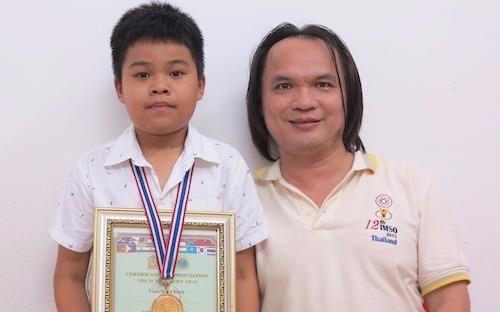 Viet Nam dung so 1 thi Olympic Toan chau A - Thai Binh Duong hinh anh