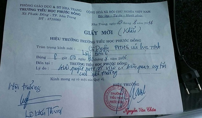 'Phan doi hoc sinh be ban ghe la tao nen the he long kinh' hinh anh 1