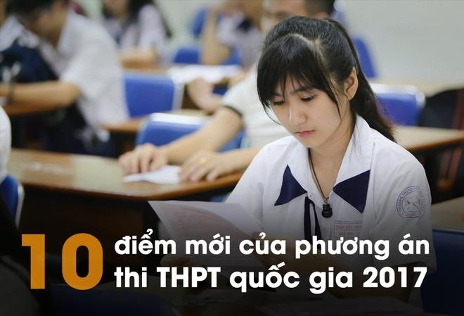 Thi THPT quoc gia 2017: 10 diem moi dang chu y hinh anh