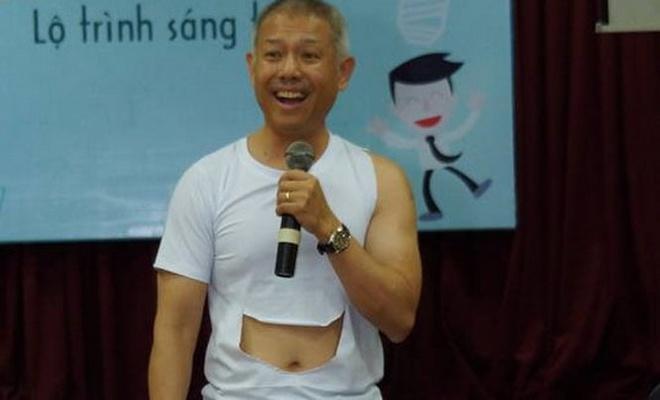 GS Truong Nguyen Thanh mac quan dui day ve sang tao hinh anh