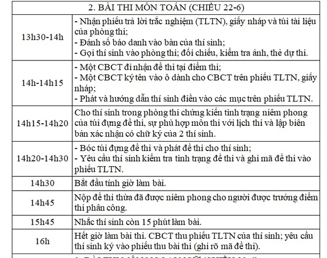 Lich thi THPT quoc gia 2017 hinh anh 3