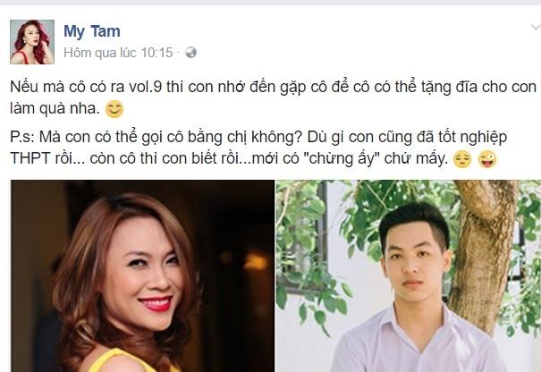 Nam sinh dat 10 diem Van: 'Em hoc gioi khong phai vi doc ngon tinh' hinh anh 2