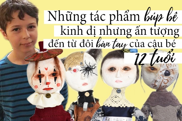 Cau be 12 tuoi thich sang tao bup be kinh di hinh anh