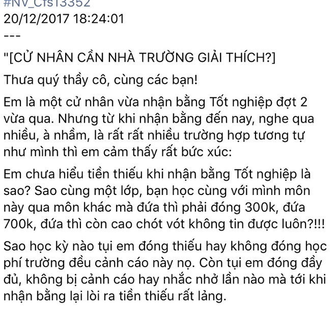 'Nha truong khong thu tien tao lao cua sinh vien khi nhan bang' hinh anh 3