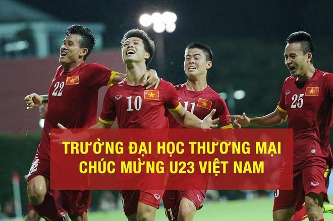 Sinh vien DH Bach khoa Ha Noi xep hang cho xem U23 Viet Nam thi dau hinh anh 4