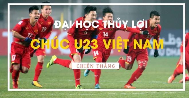 Sinh vien DH Bach khoa Ha Noi xep hang cho xem U23 Viet Nam thi dau hinh anh 7