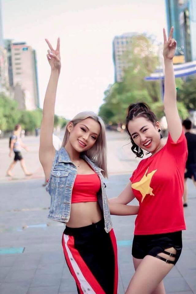 DJ King Lady trinh dien soi dong mo dau gala mung cong U23 Viet Nam hinh anh 5