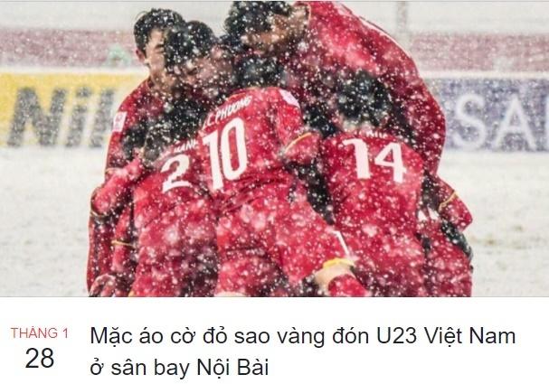 Mang xa hoi ngap tran sac do chao don U23 Viet Nam tro ve hinh anh 11