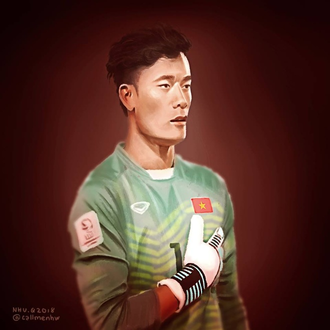 Cac 'nam than san co' U23 Viet Nam qua phien ban tranh ve hai huoc hinh anh 2