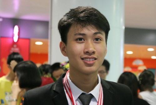 Chang trai vang Quang Binh trung tuyen truong dai hoc so 1 the gioi hinh anh