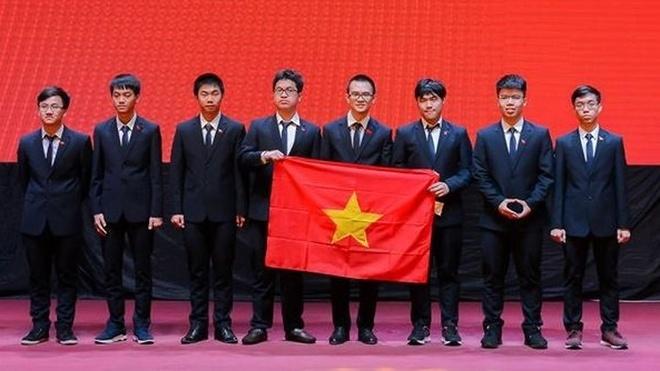 Viet Nam gianh 4 huy chuong vang Olympic Vat ly chau A hinh anh