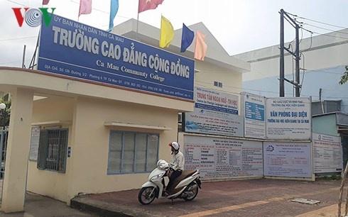Tam dung 3 lop lien thong do DH Kien Giang dao tao