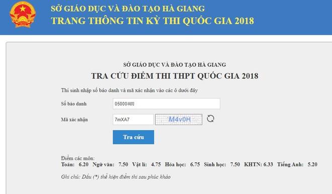 Thi sinh Ha Giang co diem cao truot tot nghiep sau khi cham tham dinh hinh anh