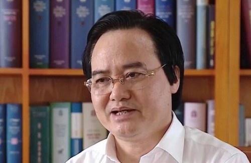 'Bo truong Phung Xuan Nha nen xin loi ve sai pham diem thi' hinh anh