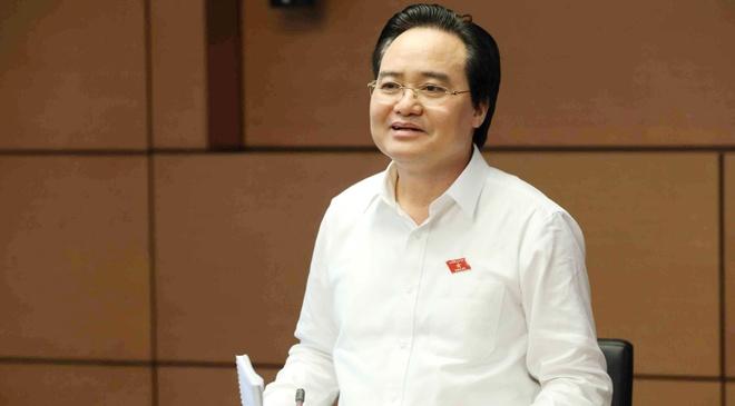 Bo truong Phung Xuan Nha: 'Toi xin nhan trach nhiem' hinh anh