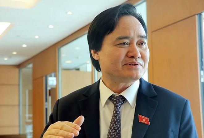Bo truong Phung Xuan Nha: 'Nganh giao duc khong quyet duoc giao vien' hinh anh