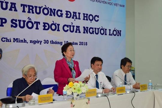 Ba Nguyen Thi Doan: Kinh te tri thuc tut hau kha xa hinh anh