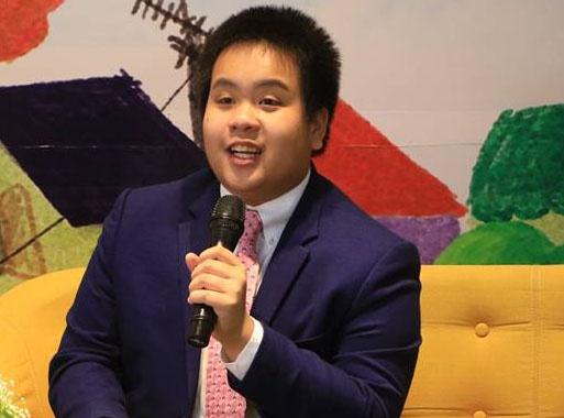 Đỗ Nhật Nam nhận học bổng của đại học Mỹ