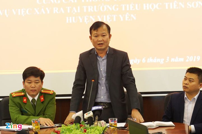 Cong an ket luan thay giao Bac Giang khong dam o hang loat nu sinh hinh anh 1