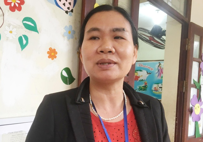 Hieu pho truong Thanh Khuong: Phu huynh nong voi cho con kham san lon hinh anh 1