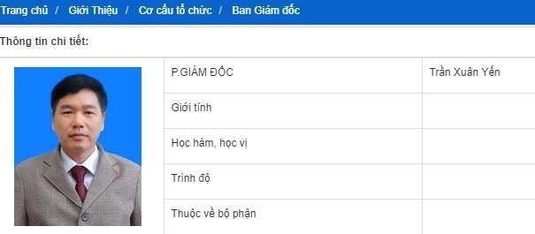 Pho giam doc So GD&DT Son La bi khoi to van di lam binh thuong hinh anh 1