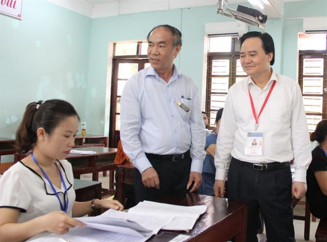 So GD&DT Ha Giang bao cao cong an ve chon nhan su ky thi THPT quoc gia hinh anh 1